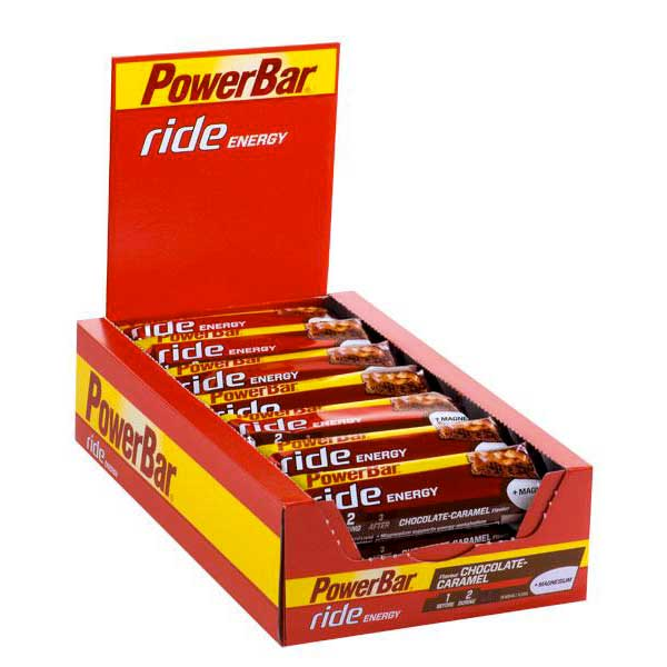 Powerbar Ride Chocolate Caramel Box 18 Units