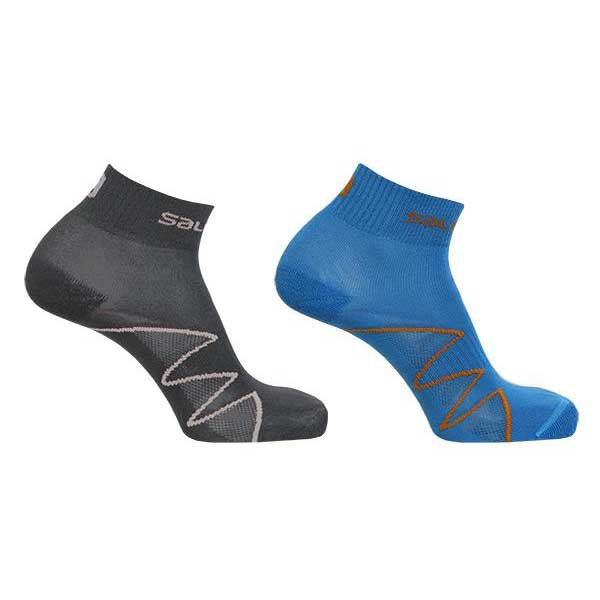 Salomon socks Black+Spectrum Blue