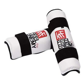 Krf White Tibia Shin Guard