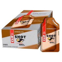 Clif Energygrel Chocolate Box 24 Units