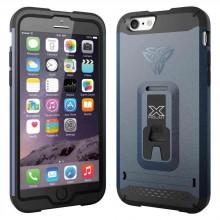 Armor-x cases Rugged Case Kickstand Belt Clip for iPhone 6 Navy