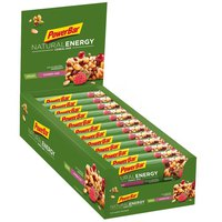 Powerbar Natural Energy Cereals 960g Raspberry 24 Units