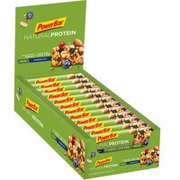 Powerbar Nat Unitsral Protein Bl Unitseberry Box 24 Units