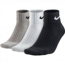 Nike 3 Pair Pack Value Cotton Quarter