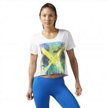 Reebok crossfit Cf Graphic Boyfriend Crop Tee