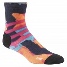 Reebok Crossfit W Print Spray Stripe Crew Socks