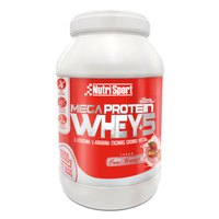 Nutrisport Mega Protein 1.8kg Strawberry