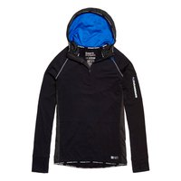 Superdry Sports Athletic Half Zip Hood