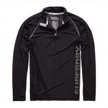 Superdry Sports Active Zip Henley