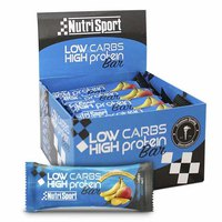 Nutrisport Low Carbs High Protein Bar Plátano y Mango 16 Unidades