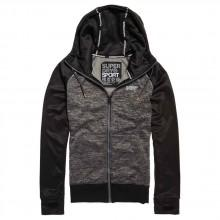Superdry Raglan Training Zip Thru Hood