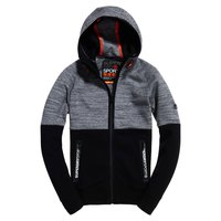 Superdry Gym Tech Colourblock Ziphood