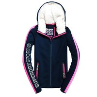 Superdry Core Sport Borg Ziphood