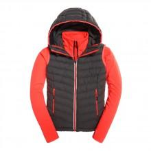 Superdry Sport Black Hybrid Gilet Jacket