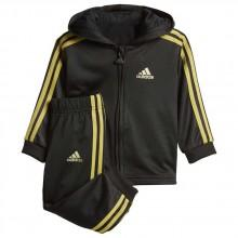 adidas Shiny Full Zip Hooded Jogger