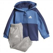 adidas Linear Full Zip Fleeece Hooded Jogger
