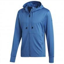 adidas Workout Full Zip Textured Hooded