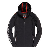 Superdry Gym Tech Stretch Ziphood