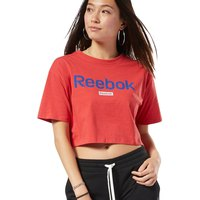 Reebok Training Essentials Linear Logo Crop