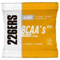 226ers Vegan Sport Gummies With BCAAS 12 Units