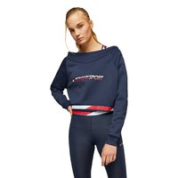 Tommy hilfiger Crop V Neck With Tape