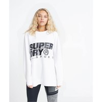 Superdry Training Graphic Oversized Crew