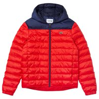 Lacoste Sport Hooded Water-Resistant Quilted