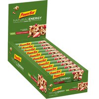 Powerbar Natural Energy Fruit Cranberry Box 24 Unit